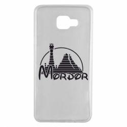 Чехол для Samsung A7 2016 Mordor (Властелин Колец) - FatLine