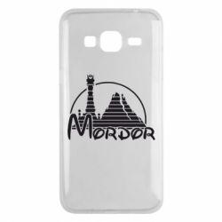 Чехол для Samsung J3 2016 Mordor (Властелин Колец) - FatLine