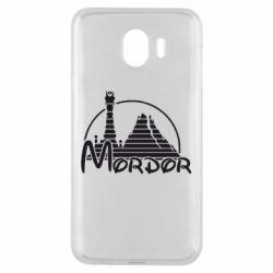 Чехол для Samsung J4 Mordor (Властелин Колец) - FatLine
