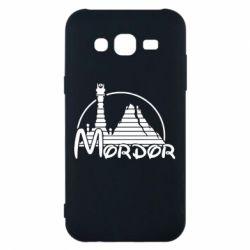 Чехол для Samsung J5 2015 Mordor (Властелин Колец) - FatLine