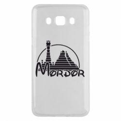 Чехол для Samsung J5 2016 Mordor (Властелин Колец) - FatLine
