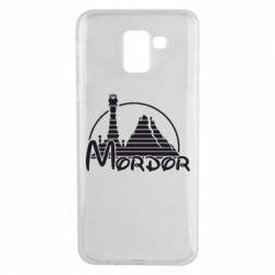 Чехол для Samsung J6 Mordor (Властелин Колец) - FatLine