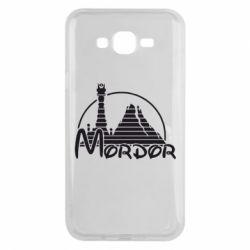 Чехол для Samsung J7 2015 Mordor (Властелин Колец) - FatLine
