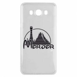 Чехол для Samsung J7 2016 Mordor (Властелин Колец) - FatLine