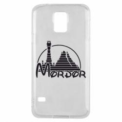Чехол для Samsung S5 Mordor (Властелин Колец) - FatLine