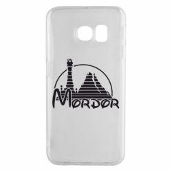 Чехол для Samsung S6 EDGE Mordor (Властелин Колец) - FatLine