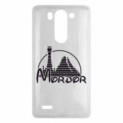 Чехол для LG G3 mini/G3s Mordor (Властелин Колец) - FatLine