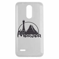 Чехол для LG K7 2017 Mordor (Властелин Колец) - FatLine
