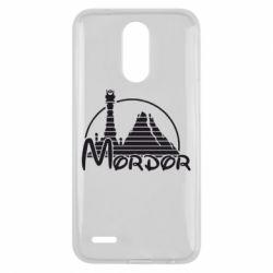 Чехол для LG K10 2017 Mordor (Властелин Колец) - FatLine