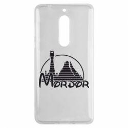 Чехол для Nokia 5 Mordor (Властелин Колец) - FatLine