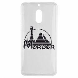 Чехол для Nokia 6 Mordor (Властелин Колец) - FatLine