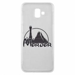 Чехол для Samsung J6 Plus 2018 Mordor (Властелин Колец) - FatLine