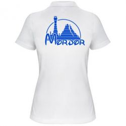 Женская футболка поло Mordor (Властелин Колец) - FatLine