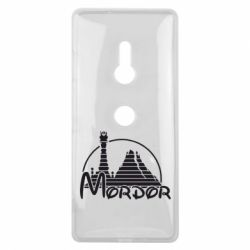 Чехол для Sony Xperia XZ3 Mordor (Властелин Колец) - FatLine