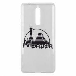 Чехол для Nokia 8 Mordor (Властелин Колец) - FatLine