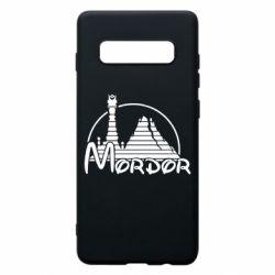 Чехол для Samsung S10+ Mordor (Властелин Колец)