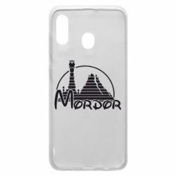 Чехол для Samsung A20 Mordor (Властелин Колец)
