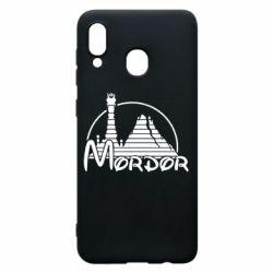 Чехол для Samsung A30 Mordor (Властелин Колец)
