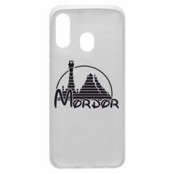 Чехол для Samsung A40 Mordor (Властелин Колец)