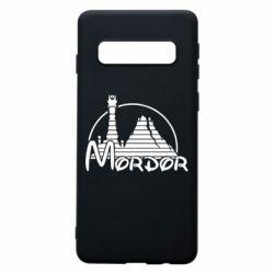 Чехол для Samsung S10 Mordor (Властелин Колец)