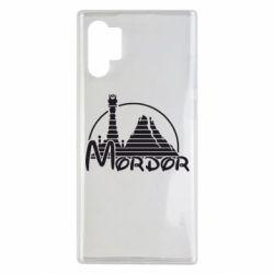 Чехол для Samsung Note 10 Plus Mordor (Властелин Колец)