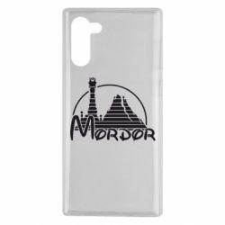 Чехол для Samsung Note 10 Mordor (Властелин Колец)