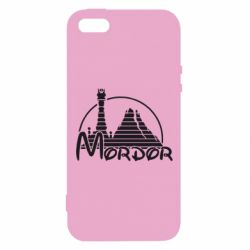Чехол для iPhone5/5S/SE Mordor (Властелин Колец) - FatLine