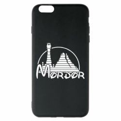 Чехол для iPhone 6 Plus/6S Plus Mordor (Властелин Колец) - FatLine