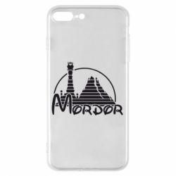 Чехол для iPhone 8 Plus Mordor (Властелин Колец) - FatLine