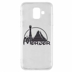 Чехол для Samsung A6 2018 Mordor (Властелин Колец) - FatLine