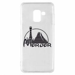 Чехол для Samsung A8 2018 Mordor (Властелин Колец) - FatLine