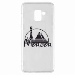 Чехол для Samsung A8+ 2018 Mordor (Властелин Колец) - FatLine