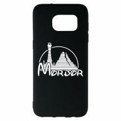 Чехол для Samsung S7 EDGE Mordor (Властелин Колец) - FatLine