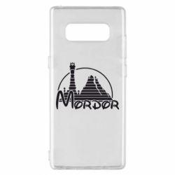 Чехол для Samsung Note 8 Mordor (Властелин Колец) - FatLine