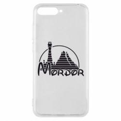 Чехол для Huawei Y6 2018 Mordor (Властелин Колец) - FatLine