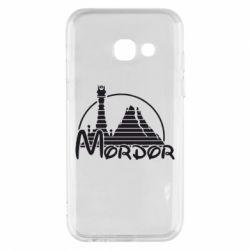 Чехол для Samsung A3 2017 Mordor (Властелин Колец) - FatLine