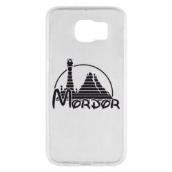Чехол для Samsung S6 Mordor (Властелин Колец) - FatLine