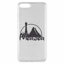 Чехол для Xiaomi Mi Note 3 Mordor (Властелин Колец) - FatLine