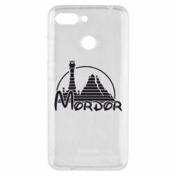Чехол для Xiaomi Redmi 6 Mordor (Властелин Колец) - FatLine