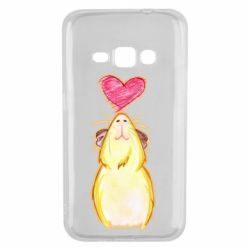Чохол для Samsung J1 2016 Морська свинка і сердечко