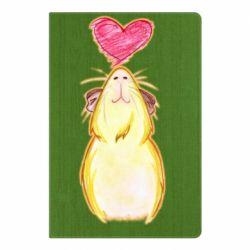 Блокнот А5 Морська свинка і сердечко
