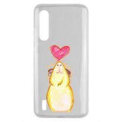 Чохол для Xiaomi Mi9 Lite Морська свинка і сердечко