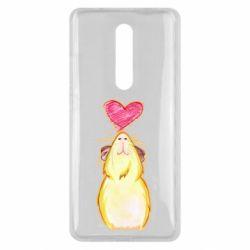 Чохол для Xiaomi Mi9T Морська свинка і сердечко