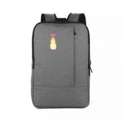 Рюкзак для ноутбука Морська свинка і сердечко
