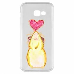 Чохол для Samsung A5 2017 Морська свинка і сердечко