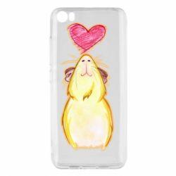 Чохол для Xiaomi Mi5/Mi5 Pro Морська свинка і сердечко