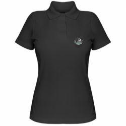 Жіноча футболка поло Морське чудовисько Кракен