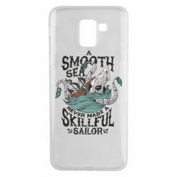 Чохол для Samsung J6 Морське чудовисько Кракен