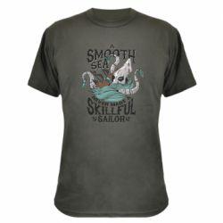 Камуфляжна футболка Морське чудовисько Кракен