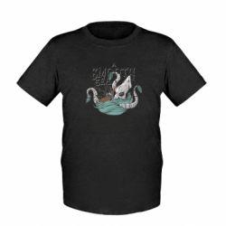Дитяча футболка Морське чудовисько Кракен